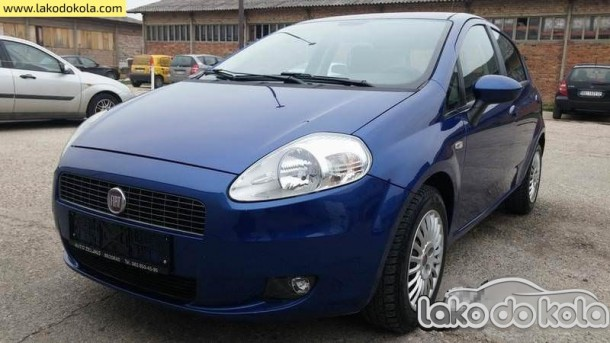 Polovni automobil - Fiat Grande Punto Grande Punto 1,2 2007.